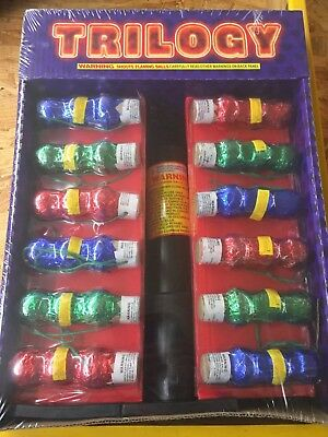 TRILOGY BY WORLD CLASS 12 Triple Balls SHELL 1 3/4 inch W, tube 12 Labels 36