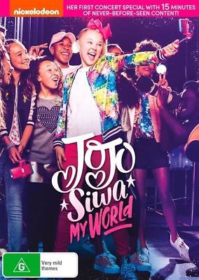 Jojo Siwa - My World (Dvd, 2017) [Brand New & Sealed]