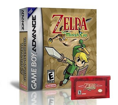 Legend of Zelda The Minish Cap + Case (Nintendo Game Boy Advance GBA) USA Seller