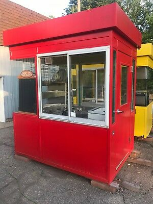 Small Metal Building Equipped W Pizza Equipment- Food Truck Or Place On Trailer