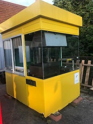 Small Metal Building W Taco Burgers Equipment - Food Truck Or Place On Trailer