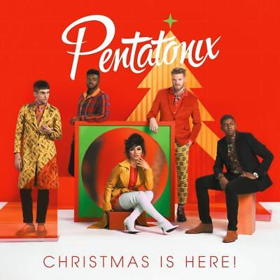 Christmas Is Here! by Pentatonix Pop Classical RCA 33 mins Audio CD NO TAX NEW