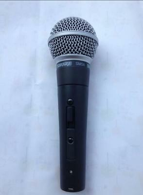 used SHURЕ SM58s Dynamic Vocal Microphone Mic with switch(on---off).shure.SM58