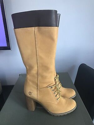 High Inch Wheat Knee Lace Up Womens Nubuck 14 Allington Timberland zgqqwBxP
