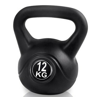 Kettle Bell Everfit 12KG Training Weight Fitness Gym Exercise Kettlebell Dumbell