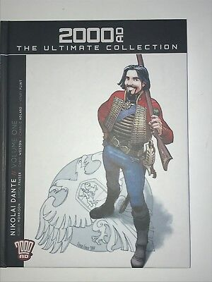 2000ad ultimate Collection 72 Nikolai Dante Volume One
