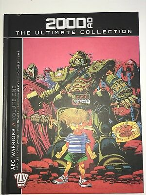 2000ad Ultimate Collection 23 ABC Warriors Volume 1