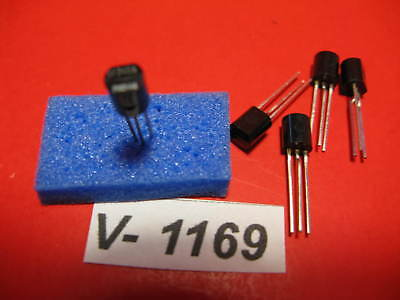 5x BF245A, Philips, JFET N-Channel Transistor, TO92 / v-1169