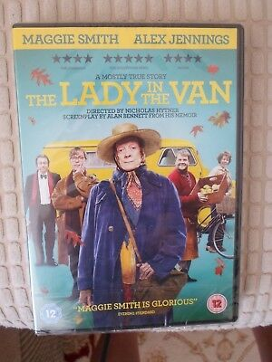 THE LADY IN THE VAN - DVD (BRAND NEW & SEALED) Maggie Smith, Alex Jennings