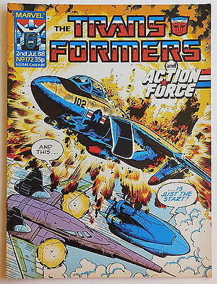 TRANSFORMERS COMIC #172 - 2nd July 1988 - Marvel UK, Action Force