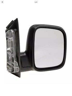 Vw Caddy 2004-2010 Drivers Side d/s Right Hand Manual Wing Mirror