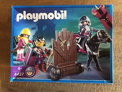 ♥Playmobil♥ 4437 Barbaren mit Sturmwand