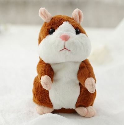 Lovely Talking Stuffed Plush Hamster Toy XMAX Gift
