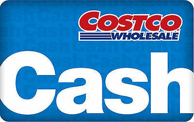 costco cash card $0