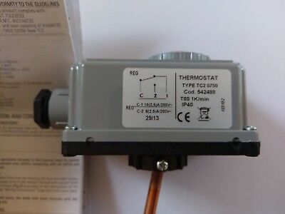 Imit TC2 Single Immersed Thermostat LSC1 Type TC2 0750 Code 542488
