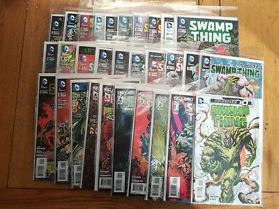 Swamp Thing New 52 0 1 - 26 + Annual 1+2 23.1 lot