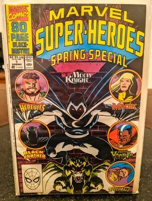 Marvel Super Heroes Spring Special #1 : Moon Knight, Hercules Black Panther 1