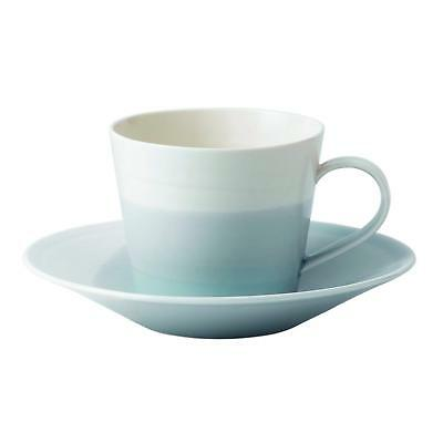 Royal Doulton 1815 tea Saucer, 16.5 cm blue New