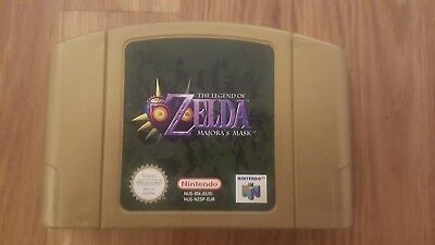 The Legend Of Zelda: Majora's Mask (Nintendo 64, 2000) N64