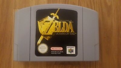 The Legend Of Zelda: Ocarina Of Time (Nintendo 64, 1998) N64