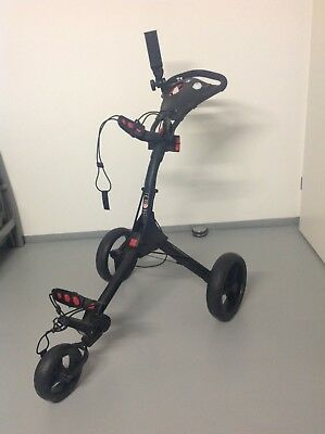 Golftrolley Big Max IQ Schwarz
