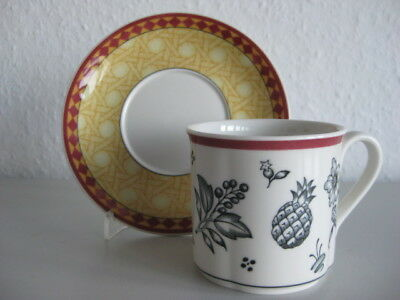 Villeroy /& Boch ♥  Switch Plantation  ♥ SAFRAN ♥ 6 Suppenteller ♥ V /& B