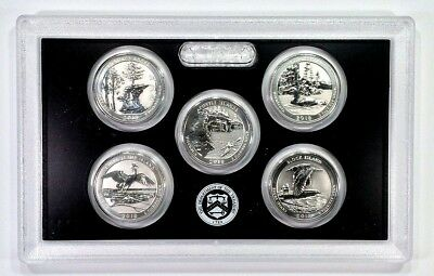 2018 Silver Reverse Proof ATB Quarters w/COA (((SOLD OUT)💰