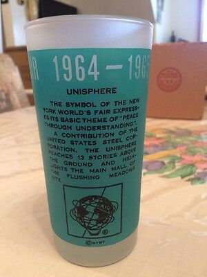 1964 1965 New York World's Fair Drinking Glass