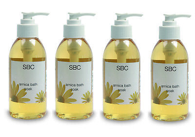 SBC Arnica Muscle Bath Soak 125ml FOUR BOTTLES