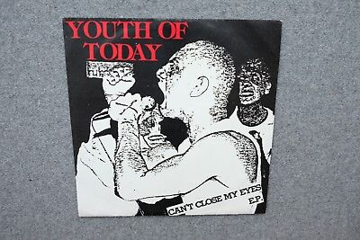 Youth of Today Can't close my eyes ccme first press biscuits sxe nyhc 7 warzone