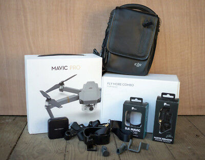 DJI Mavic Pro Fly More Combo 4K Camera Drone with extra accesories