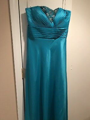 Nwt Size 16 Formal Long Dress Wedding Prom Mother's Holidays Cruise