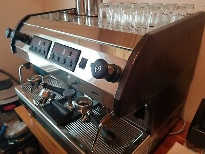 Venezia II dual group head commercial espresso machine
