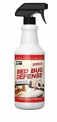 Bed Bug Defense Repellent Killer-All Natural With Essential Oils-32 Ounce Bottle