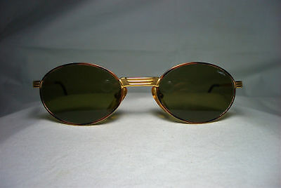 Castellani eyeglasses round oval gold plated men's women's frames hyper vintage