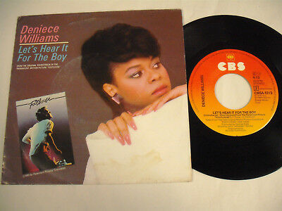 """DENIECE WILLIAMS  Let's Hear It For The Boy -  7"""""""