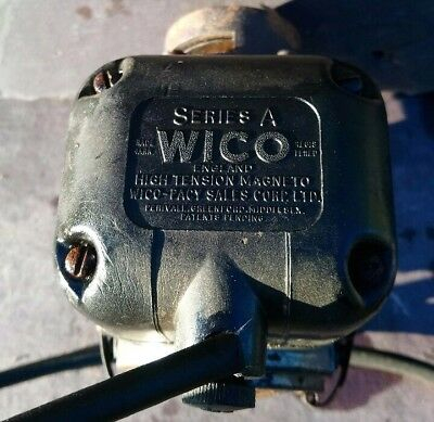J.a.p. 5 Vintage Stationary Engine Wipac Series A Used Magneto Spares / Repair