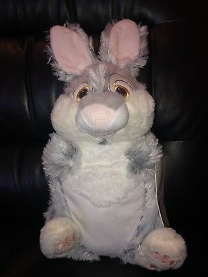 BAMBI THUMPER THE RABBIT NOVELTY DISNEY HOT WATER BOTTLE WITH COVER 1lt....BNWT