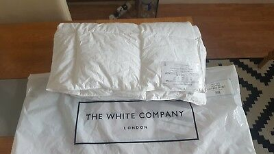 The White Company Cot Bed Duvet 4.5 tog size 120 cm x 140 cm