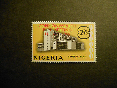 Nigeria 1966 Commonwealth P. M. Meeting Lagos (overprint) SG 186 MNH (see photo)