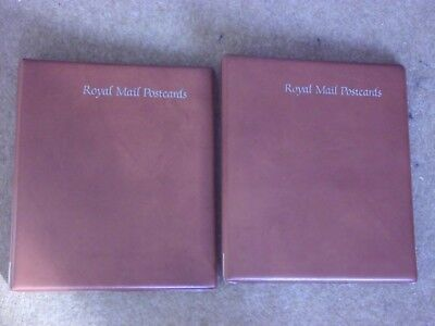 2 x Royal Mail Post Card albums - good condition - rf468