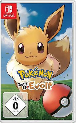 Pokémon Let´s Go Evoli! Nintendo Switch *NEU & OVP* Deutsch Pokemon Lets Go new