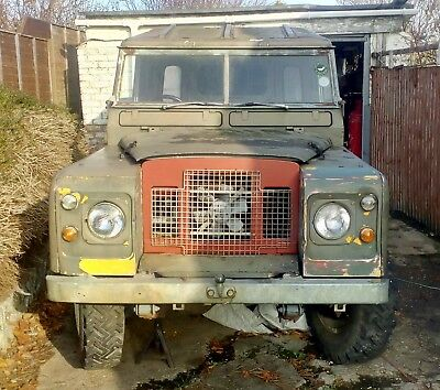 1969 Land Rover Series 2a Project