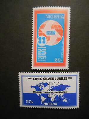 Nigeria 1985 Organisation of Petroleum Exporting Countries (OPEC) SG 500-1 MNH