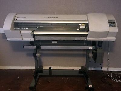 "Roland SP-300 30"" Eco-Solvent Inkjet Vinyl Printer Cutter with Take-Up System!!!"