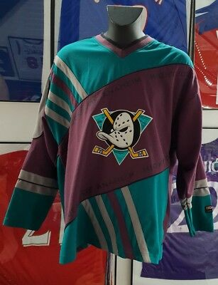 Maillot jersey trikot hockey nhl mighty ducks anaheim   vintage NBA mlb nhl usa