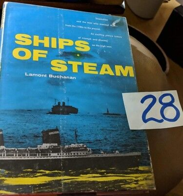 Ships Of Steam, The Liners, & Beau Voyage 4 Book Lot On Ocean Liners
