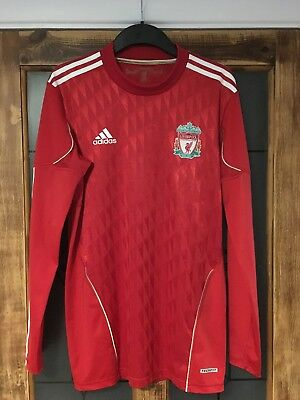 Liverpool Football Adidas Home Shirt 2010 12 Men s Large Long-Sleeved No  Sponsor d64900bc121