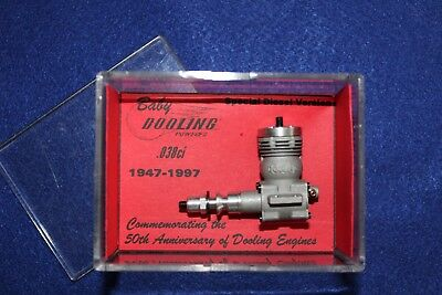 Rare and Collectable, Arne Hinde Baby Dooling .038 cuin Diesel model engine