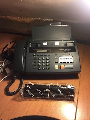 BROTHER Fax/Phone/Copier 920